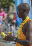Raiffeisen银行布加勒斯特国际马拉松04 10 2015年 图库摄影