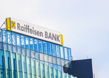Raiffeisen bank headquarter Stock Image