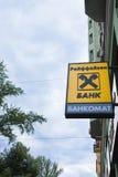 Raiffeisen bank logo Stock Image