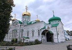 Raifsky Bogoroditskiy男性修道院在鞑靼斯坦共和国 免版税库存照片
