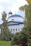 Raifsky Bogoroditskiy男性修道院在鞑靼斯坦共和国 库存图片