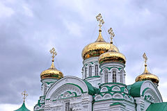 Raifsky Bogoroditskiy male Monastery in Tatarstan Stock Image
