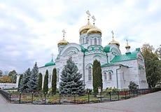 Raifsky Bogoroditskiy male Monastery in Tatarstan Stock Images