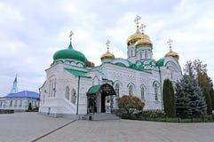 Raifsky Bogoroditskiy manlig kloster i Tatarstan Arkivfoton
