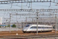 Rail à grande vitesse Photographie stock libre de droits