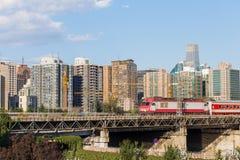 Rail à grande vitesse Images libres de droits