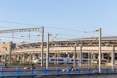 Rail à grande vitesse Photo stock