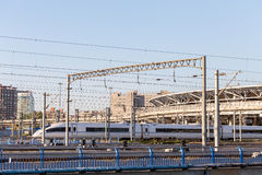 Rail à grande vitesse Photographie stock