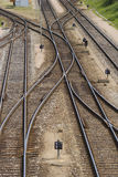Rail 3. Rail stock image