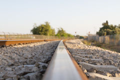 Rail Royalty Free Stock Photo