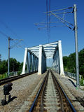 Rail bridge Stock Images
