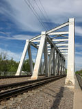 Rail bridge Royalty Free Stock Photos