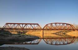Rail Bridge Bridge Stock Photography