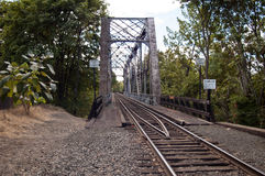 Rail Bridge Royalty Free Stock Images