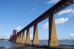 Rail Bridge supports Stock Images