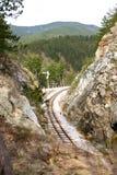 Rail canyon. Rail road canyon, mokra gora, touristic attraction sargan eight, serbia royalty free stock images