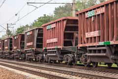 Rail cars Royalty Free Stock Photos