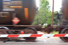 Rail Cars Speeding By Royalty Free Stock Images