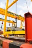 The rail crane Stock Photos