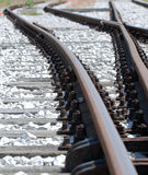Rail Crossing Stock Photography