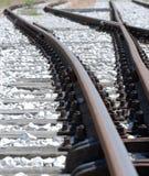 Rail Crossing stock photography