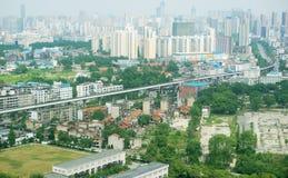 Rail dans la ville Image libre de droits