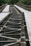 Rail de train Image libre de droits