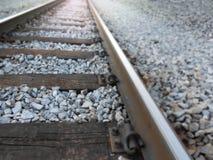 Rail de train Photo libre de droits