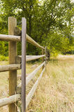 Rail fence Royalty Free Stock Photo