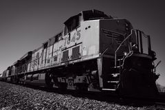 Rail Freight Train Transportation. A freight train or goods train is a group of freight cars US or goods wagons International Union of Railways hauled by one or royalty free stock photos