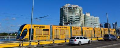 Rail G - Australie de lumière de la Gold Coast du Queensland Photos libres de droits