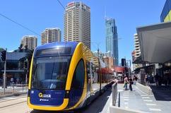 Rail G - Australie de lumière de la Gold Coast du Queensland Photo libre de droits