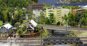 Rail journey. Stock Photo
