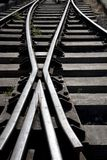 Rail Junction Stock Images