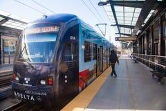 Rail léger Seattle Photos libres de droits