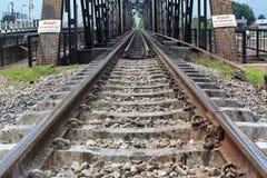 Rail length Royalty Free Stock Image