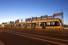 Rail léger Photos stock