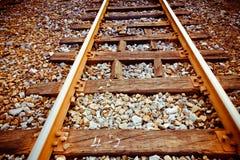 Rail line Royalty Free Stock Photos