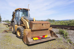 Rail Line Special Equipment Stock Images