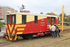 Rail motor coach Royalty Free Stock Image