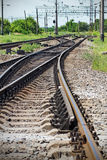 Rail path Royalty Free Stock Images
