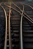 Rail racks abstract forms Royalty Free Stock Photos