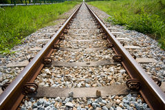The rail at Rayong Thailand Royalty Free Stock Photography