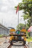 Rail Repair truck Royalty Free Stock Images