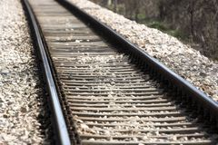 Rail road Stock Photo