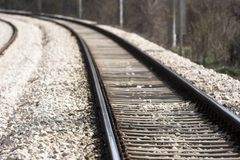 Rail road Royalty Free Stock Images