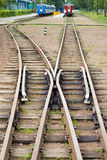 Rail road Royalty Free Stock Photography