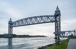 Free Rail Road Bridges On Cape Cod Canal Royalty Free Stock Image - 139315296