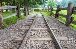 Rail road Stock Image