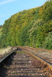 Rail Road Tracks Royalty Free Stock Image